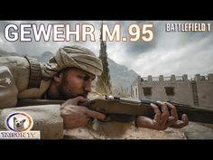 Battlefield 1 Gewehr M 95 Con mira de Hierro y Telescópica Guía