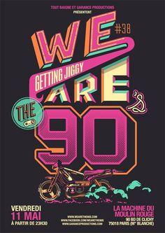 We are the 90's à la Machine du Moulin Rouge, soirée années 90 à Paris