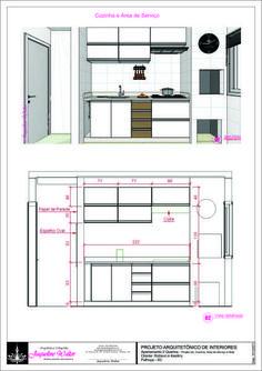 Cozinha - Medidas