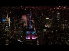 Trick or treat! Here is the official video from #empirestatebuilding's #Halloween light show and antenna LED reveal.