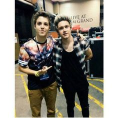 Matt Espinosa and Niall Horan!!