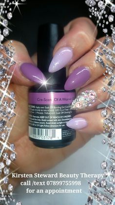 Artistic Colour Gloss Cre-Scent Of A Woman Available At Louella Belle   ArtisticNailDesign   2b12ef39646