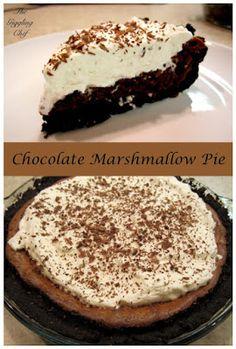 Chocolate Marshmallow Pie