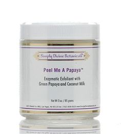 Peel Me a Papaya Enzymatic Exfoliant 3 oz by Simply Divine Botanicals * Find out more about the great product at the image link.