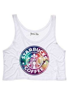 Galaxy Starbucks Tank Top - Yotta Kilo