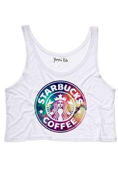 Galaxy Starbucks Tank Top - Yotta Kilo