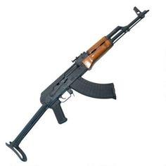 "I.O. Inc AKM247CUF AK-47 Semi Auto Rifle 7.62x39 16.5"" Barrel 30 Rounds Wood…"