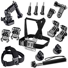 About #BAXIA TECHNOLOGY: This is an essential asseccory Kit includes 11 accessories for GoPro HERO 4 3+ 3 2 1 Cameras.Suitable for all the sizes of GoPro camera...