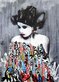 Hush Geisha #streetart