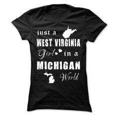 (Tshirt Coupon Today) WEST VIRGINIA MICHIGAN at Tshirt United States Hoodies, Funny Tee Shirts