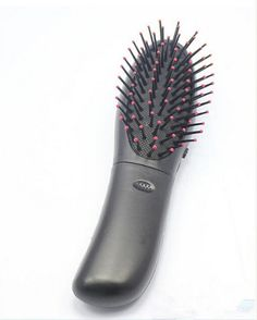 New Heath Electric Frosted Massage Comb Vibrating Massage Hair Brush Electrodos Relaxation Massage Comb Hair Care Hotsale #Affiliate