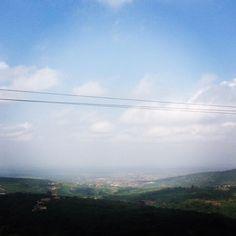 View from #aburi to #accra #ghana by nelibra89