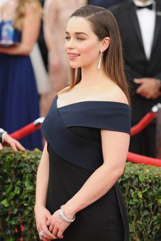 January 26: 21st Annual Screen Actors Guild Awards - 0125 SAG 0056 - Adoring Emilia Clarke - The Photo Gallery