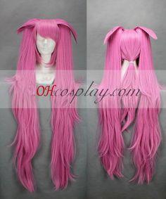 Quebec pull Princess Jingxin Pink Cosplay Wig