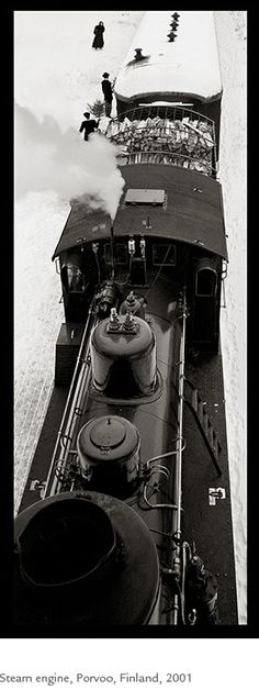 Kristoffer Albrecht, Steam Engine, Porvoo, Finland, 2001