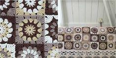 Image result for 3 color granny square crochet afghan