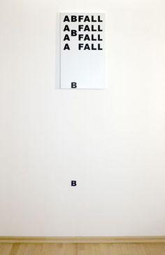 Wall installations by Anatol Knotek