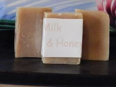 Handmade All Natural Milk & Honey Soap