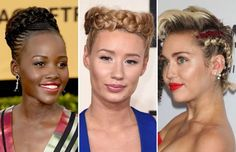 Evolution of the braid - Ethan Miller/Getty Images; Jordan Strauss/Invision/AP; Gregory Pace/BEI/REX