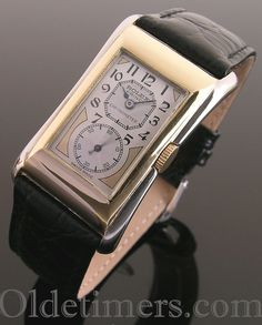 A 9ct two-colour gold vintage Rolex Prince Brancard watch, 1920s