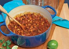 The garnishes for this hearty Mexican stew make for a fun meal that lets everyone at the table customize their serving according to taste. STORE/SERVE: Ladle cooled posole into two 2-quart containers, and refrigerate three days or freeze up to three months. Thaw, if necessary, then warm in saucepan over medium heat until just beginning to simmer. Serve with garnishes.