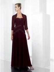 Chiffon Floor-Length A-line Bridesmaid Dress