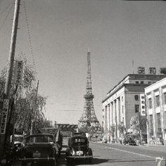 Tokyo Tower 1958
