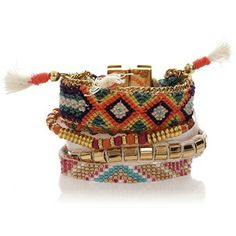 Bracelet brésilien Taj - Hipanema - Nouvelle Collection et ventes privées - Ref: 1246778 | Brandalley