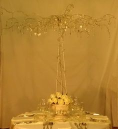 Wedding Centrepieces Wedding Favours Name Place Settings crystaltreesbydesign.co.uk