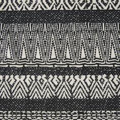 African Block Print Shirting- black