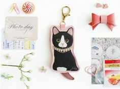 Jetoy Cat Coin Doll Bag Charm