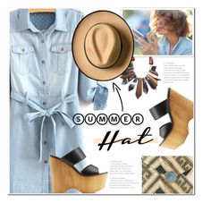 Top It Off: Summer Hats by polly301 on Polyvore featuring polyvore fashion style Wild Diva Kayu clothing summerhat