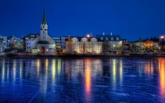 50 Beautiful HDR Images from 50 World Cities - Reykjavik, Iceland (Above) East Sussex, Lonely Planet, Phuket, Kuala Lumpur, Fotografia Hdr, Iceland In January, Places To Travel, Places To See, Wallpaper Winter
