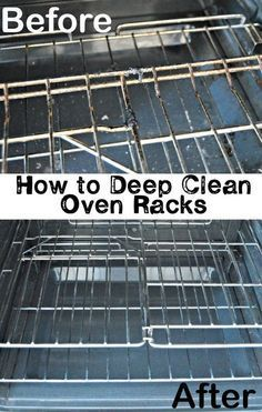 Oven racks are no fun to clean, with caked on grease stains and crusted oils. This trick gets the oven racks ridiculously clean with little effort!