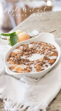 Apple Walnut Coffee