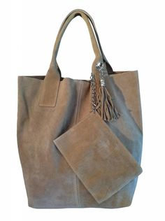 Suede Leren Tas Fringe Handbags, Tote Handbags, Purses And Handbags, Carry All Bag, Leather Bags Handmade, Cute Purses, Big Bags, Leather Purses, Leather Handbags