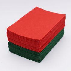 10cm X 15cm Felt Fabric Sheets Squares Non Woven Cloth Felts Sewing Diy Craft Handmade Needlework 1mm Thickness 60pcs