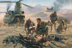 Home Military Artist Stuart Brown Battle Mist special Forces medic by Stuart Brown Army Medic, Combat Medic, Military Art, Military History, Military Drawings, Theme Tattoo, Afghanistan War, Iraq War, Pokemon