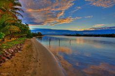 Experience a breathtaking Fiji sunset! #travel #photography