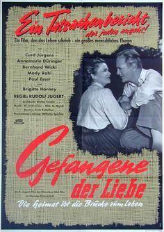 GEFANGENE DER LIEBE (1954) Plakat, 1