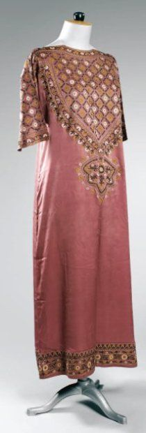 Dress by Paul Poiret, c. 1920, Beaussant Lefèvre. From the personal wardrobe of Denise Boulet-Poiret.