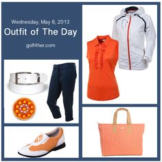 Sunset and Twilight ladies golf outfit | #golf4her