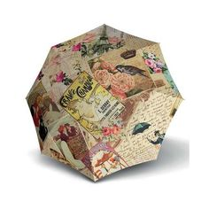Doppler Dámský skládací mechanický deštník Modern Art Mini Vintage 7085706