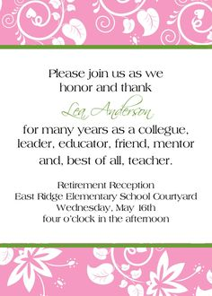 14 Great Retirement Party Invitations | Best Invitations via Relatably.com ...