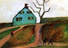 GABRIELE MUNTER Little Green House (1910)
