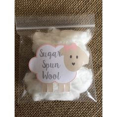 A personal favorite from my Etsy shop https://www.etsy.com/listing/258556907/sugar-spun-wool-lamb-stickers-cotton