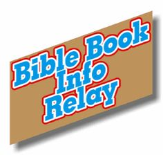 """Here is a fun activity for Sunday School kids from the Bible that will help your kids also appreciate this truth while investigating some data about different books of the Bible. It's called """"Bible Book Info Relay."""" #opening #closing #game #bible #study #scripture #verse #elementary #tween #teen"""