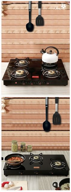 Cook smart with our stylish range of #burners with metal and glass tops!   #DiwaliDecor and #FabFurnish