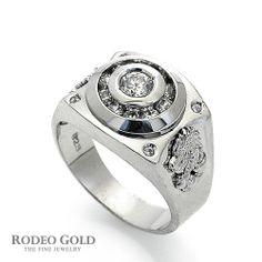 Silver ring for Men TSWR28796