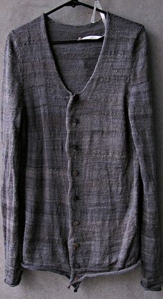 """Pretty sure this sweater falls under the category """"hobo chic"""". Love it! :)"""